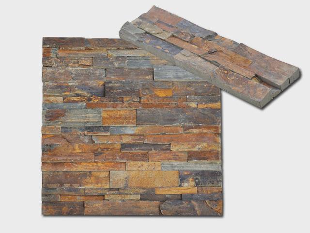 slate stone panel rustic ledgestone