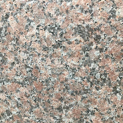 G562 maple red granite flamed