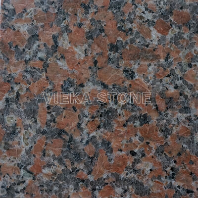 G562 maple red granite polished