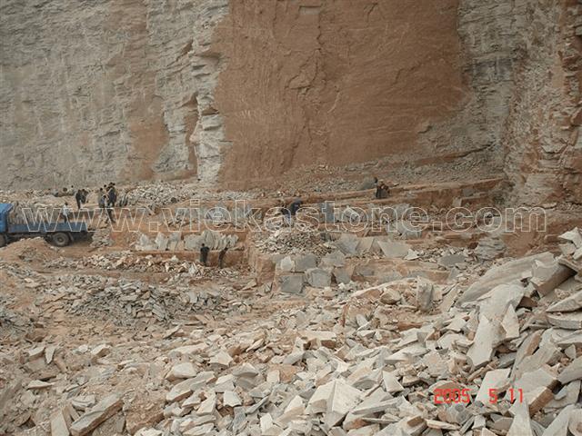 Green slate quarry