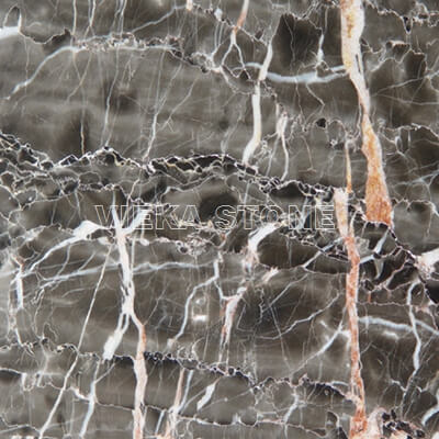 chinese M341 hang grey red vein marble