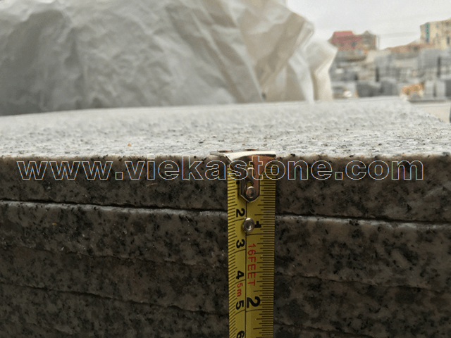 granite G603 flamed 2cm quality control