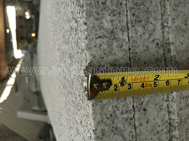 granite G603 flamed 3cm quality control