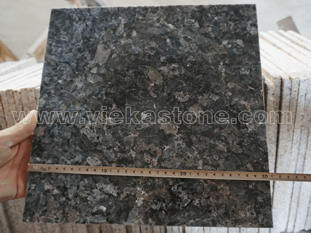 granite silver pearl tile size