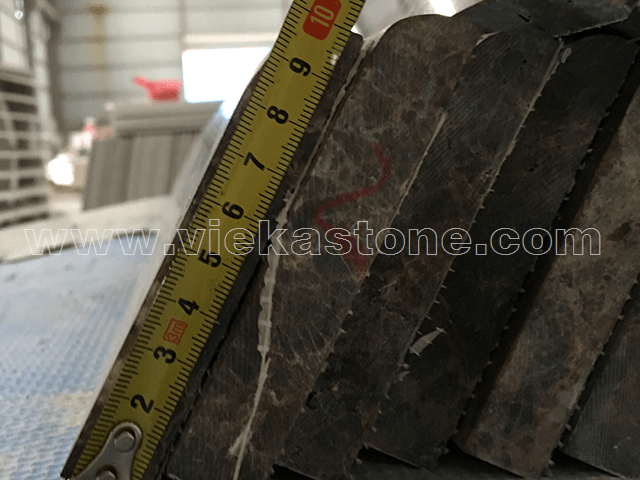 marble dark emperador quality control(5)