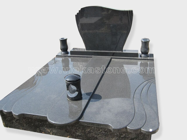 Double china impala granite tombstone monument (12)
