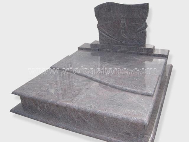 Double paradiso granite tombstone monument (18)