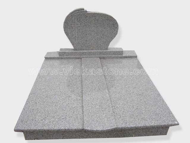 G603 Double granite tombstone monument (36)
