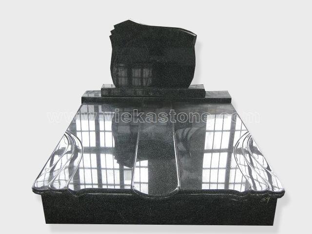 G654 Double granite tombstone monument (38)
