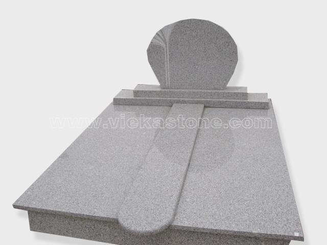G603 Double granite tombstone monument (40)