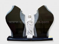 Gate of Heaven Granite Monument (1)