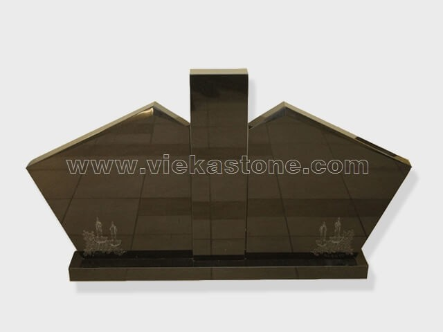 Gate of Heaven shanxi black Granite Monument (15)