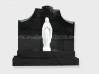 Gate of Heaven shanxi black Granite Monument (9)