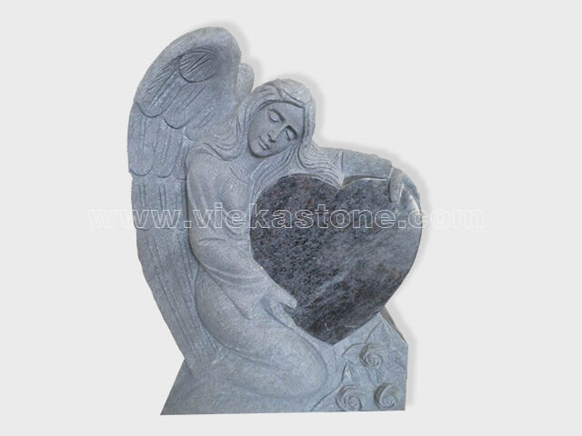angel statue granite tomb headstone (10)