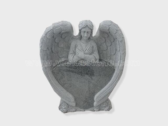angel statue granite tomb headstone (12)
