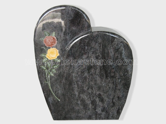 carved bahama blue granite tomb headstone (10)