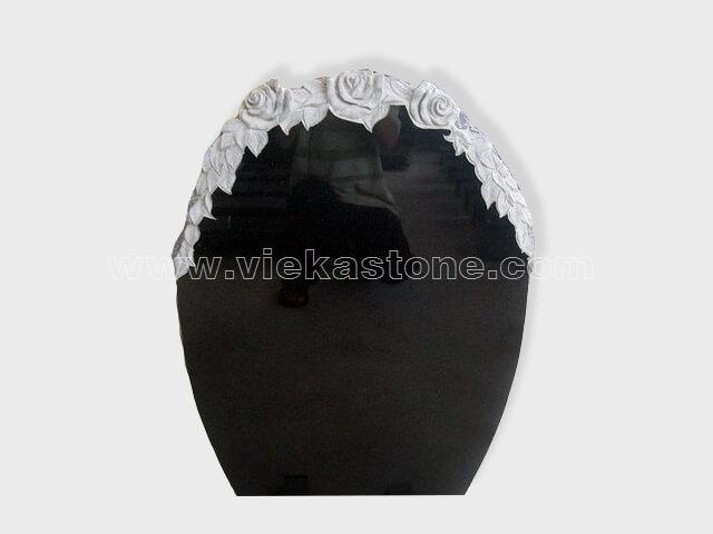carved shanxi black granite tomb headstone (11)