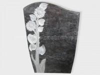 carved bahama blue granite tomb headstone (2)