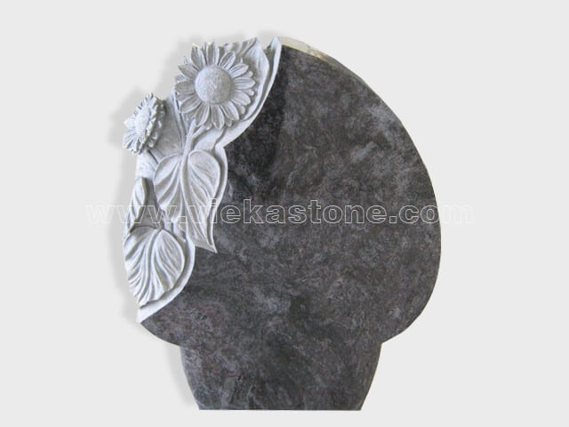 carved bahama blue granite tomb headstone (3)