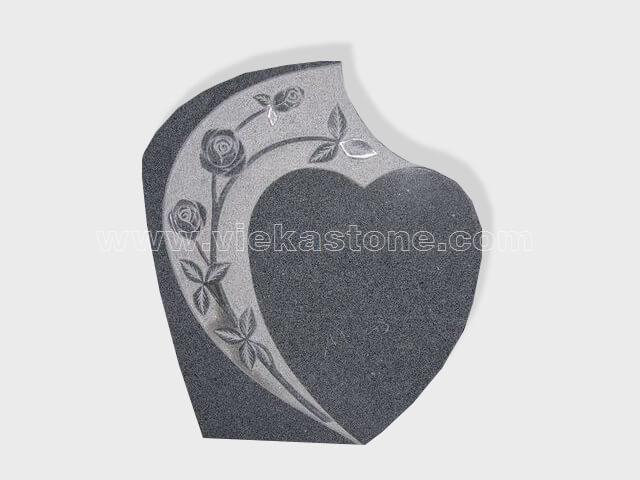 carved G654 granite tomb headstone (30)