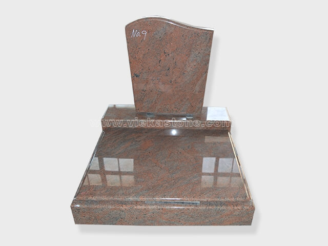 multicolor red granite mini tombstone 002 (1)