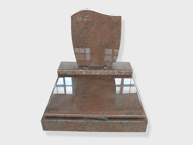 multicolor red granite mini tombstone 006 (1)
