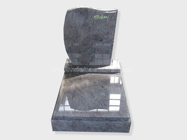 india blue granite mini tomstone 013