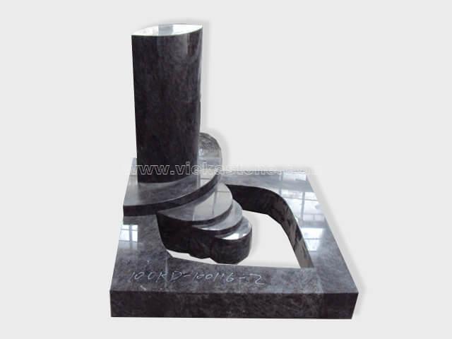 india blue orion granite mini tomstone 019