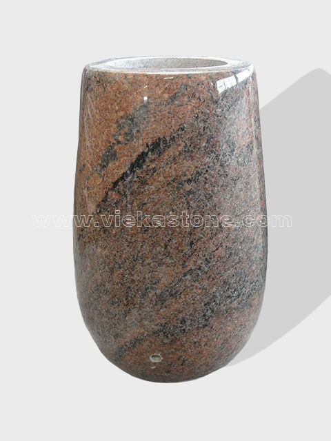 Granite Vase 006 Vieka Natural Culture Stone Slate