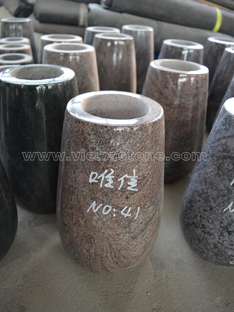 Granite Vase 006 Vieka Natural Culture Stone Slate