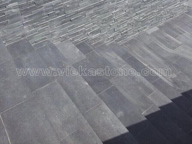 Black slate tile 60x30cm (2)
