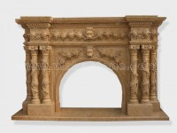 Fireplace Surround Mantel marble (10)