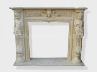 Fireplace Surround Mantel marble (13)