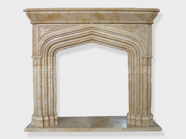 Fireplace Surround Mantel marble (14)
