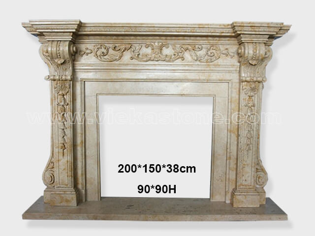 Fireplace Surround Mantel marble (18)