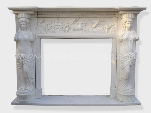 Fireplace Surround Mantel marble (19)