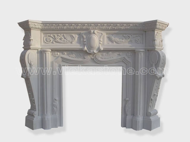 Fireplace Surround Mantel marble (20)