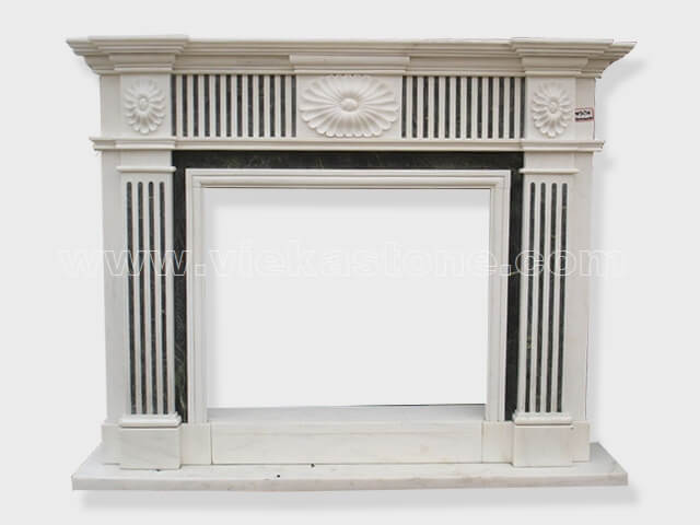 Fireplace Surround Mantel marble (21)