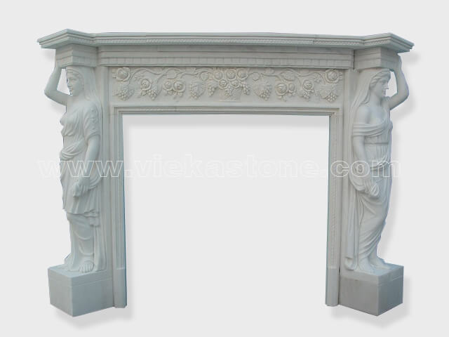 Fireplace Surround Mantel marble (22)