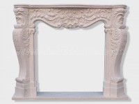 Fireplace Surround Mantel marble (24)