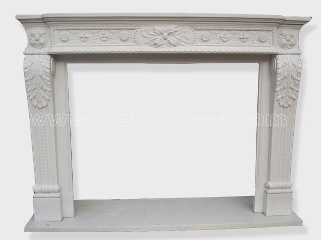 Fireplace Surround Mantel marble (25)