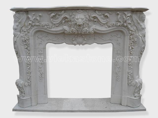 Fireplace Surround Mantel marble (27)
