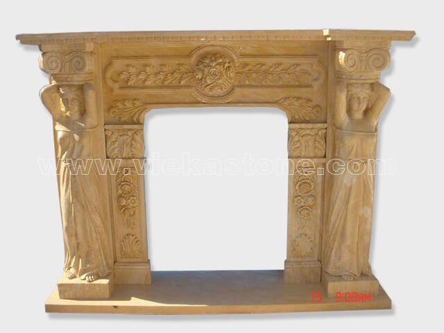Fireplace Surround Mantel marble (3)