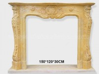 Fireplace Surround Mantel marble (6)