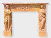 Fireplace Surround Mantel marble (7)