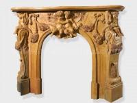Fireplace Surround Mantel marble (9)