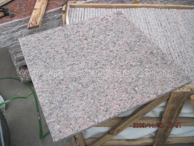 G562 maple red granite tile flamed (1)