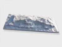 G603 Grey Granite Mushroom Stone