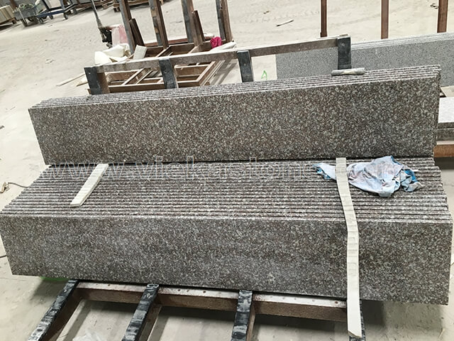 G664 Granite Step 008 Vieka Natural Culture Stone