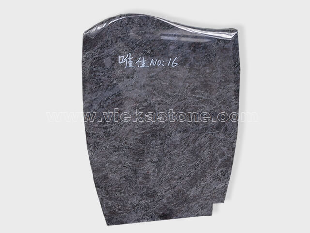 Bahama Blue Granite Headstone (1)